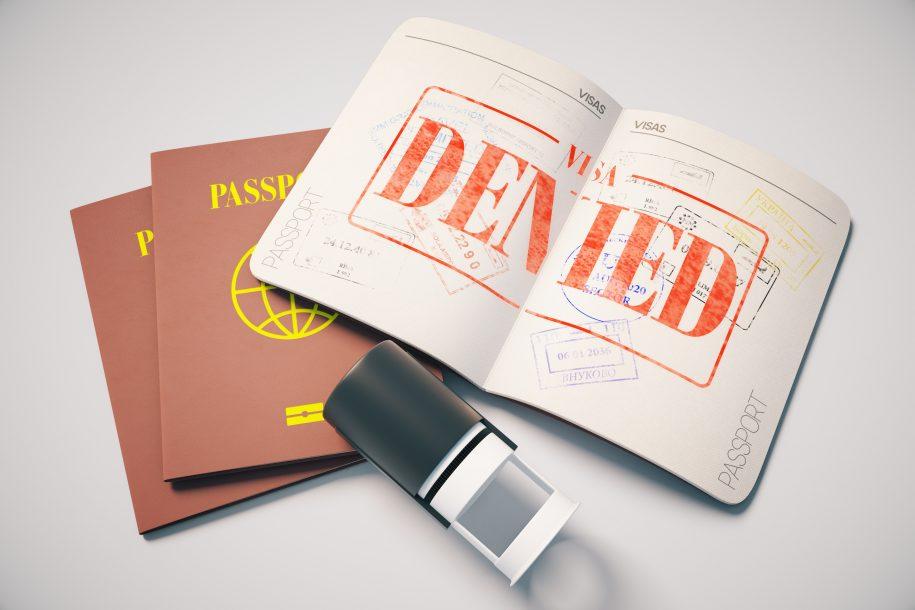 từ chối study permit
