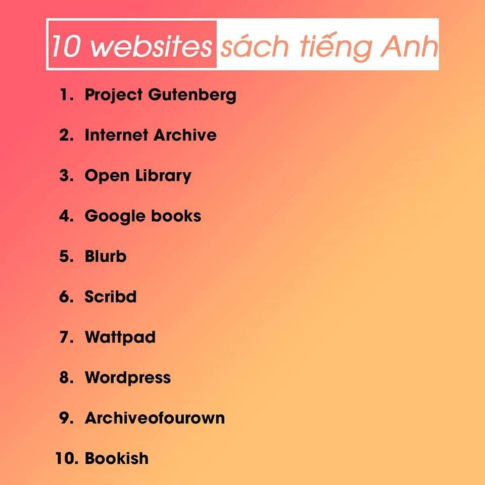 website sách tiếng anh
