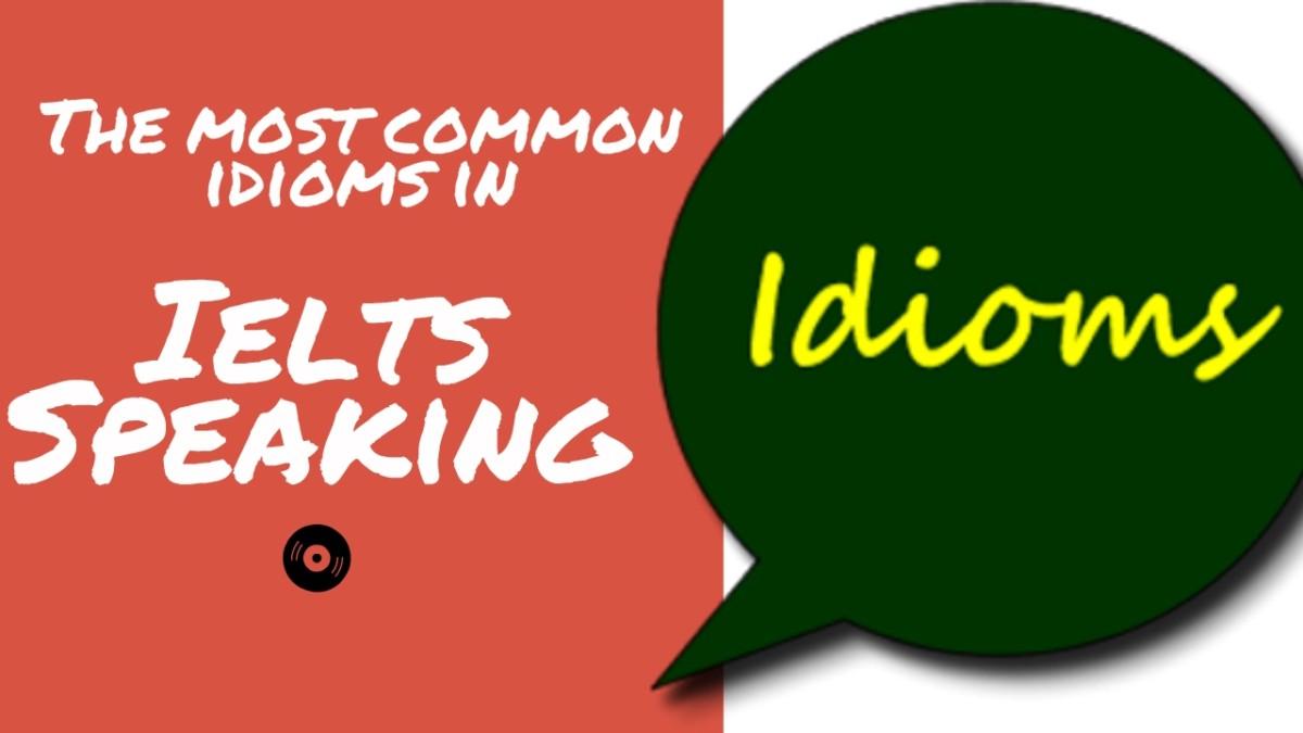 idiom thông dụng trong ielts