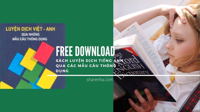 [Give Away] và Review sách Luyện dịch tiếng Anh qua các mẫu câu thông dụng