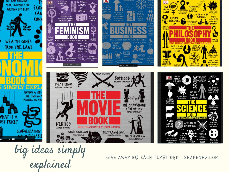 Có nên dùng từ vựng khủng trong IELTS hay không? Give Away Bộ sách Big Ideas Simply Explained Tuyệt đẹp