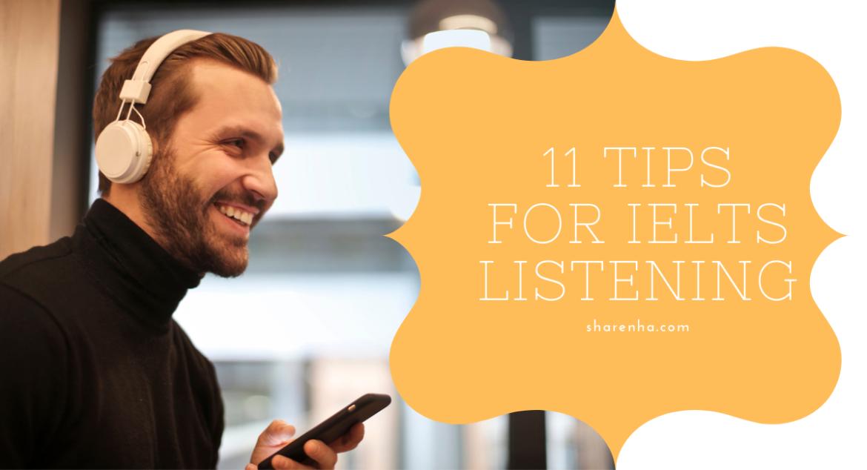 11 TIPS LUYỆN NGHE IELTS BẠN NHẤT ĐỊNH PHẢI BIẾT
