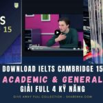 DOWNLOAD IELTS CAMBRIDGE 15 ACADEMIC & GENERAL