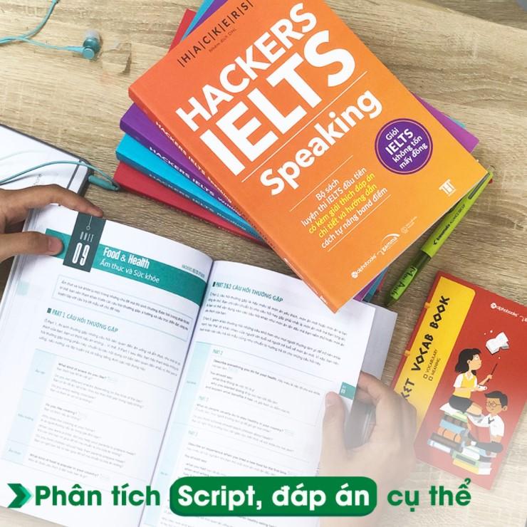 download sách hacker ielts speaking