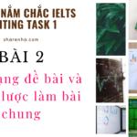 Các dạng bài trong Writing Task 1 và chiến lược làm bài chung