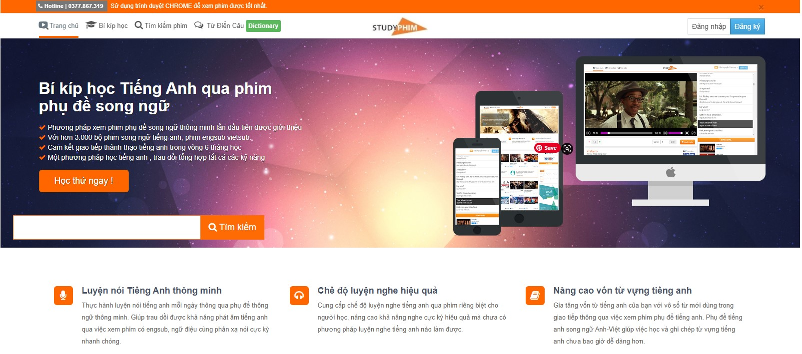 website luyện nghe tiếng anh